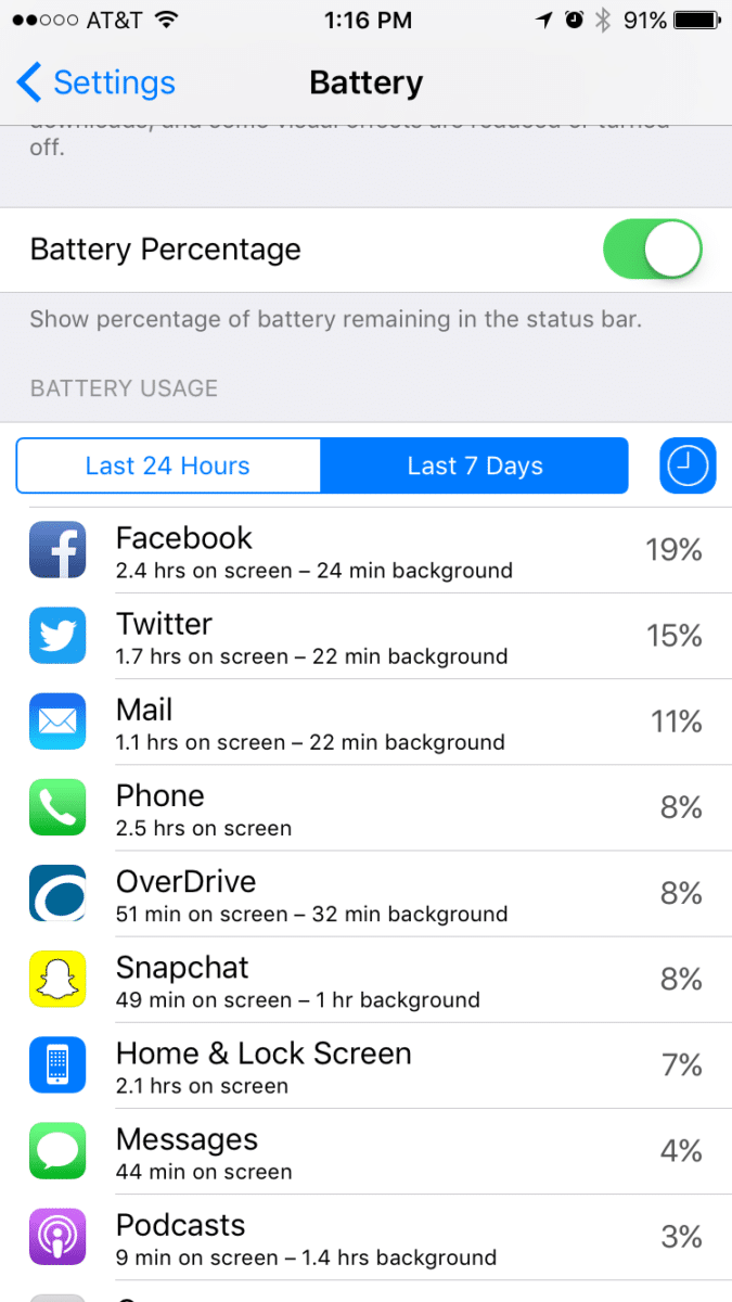 Iphone Battery app