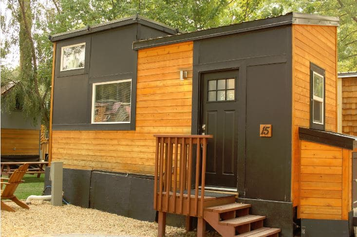 Tiny House Colorado on a budget debt free climb